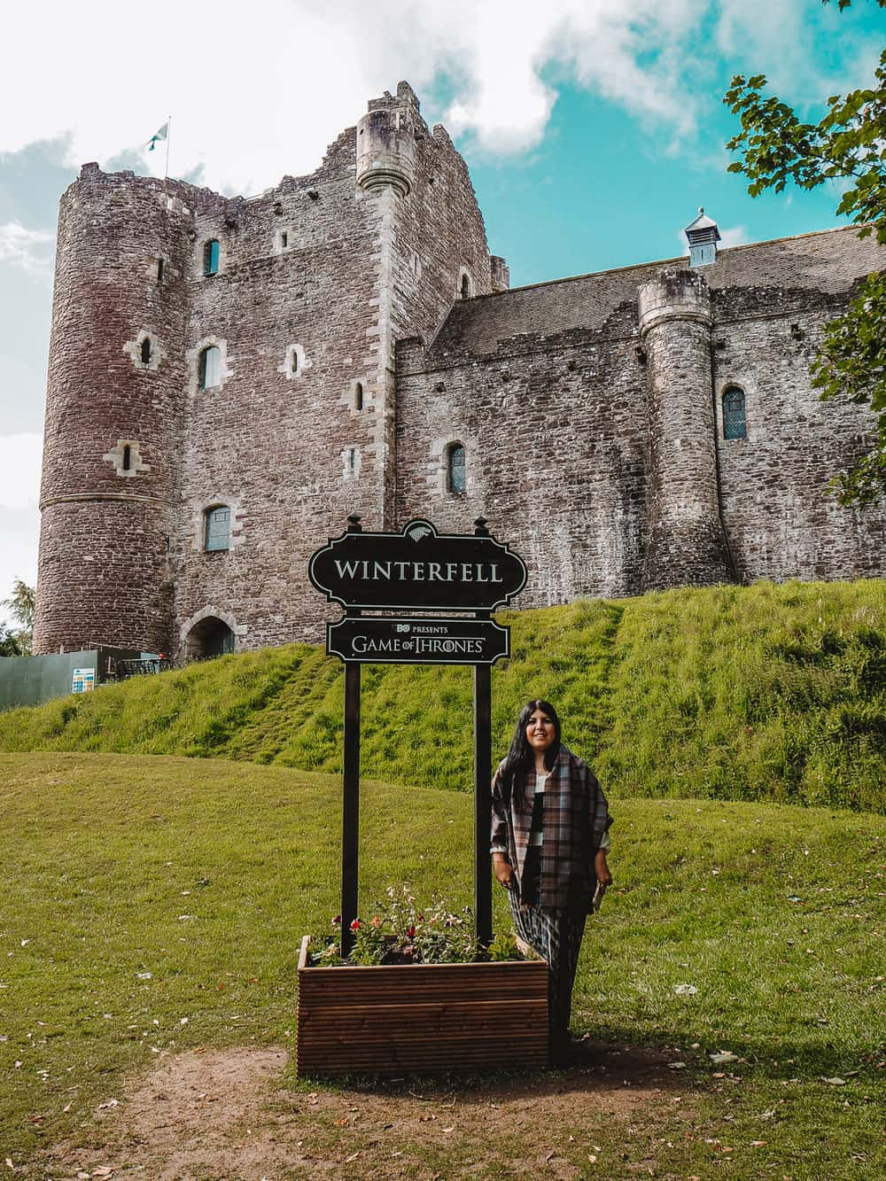 Winterfell Sign at Doune Castle