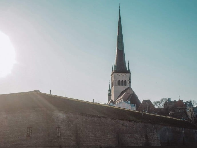 St Olaf Church Tallinn