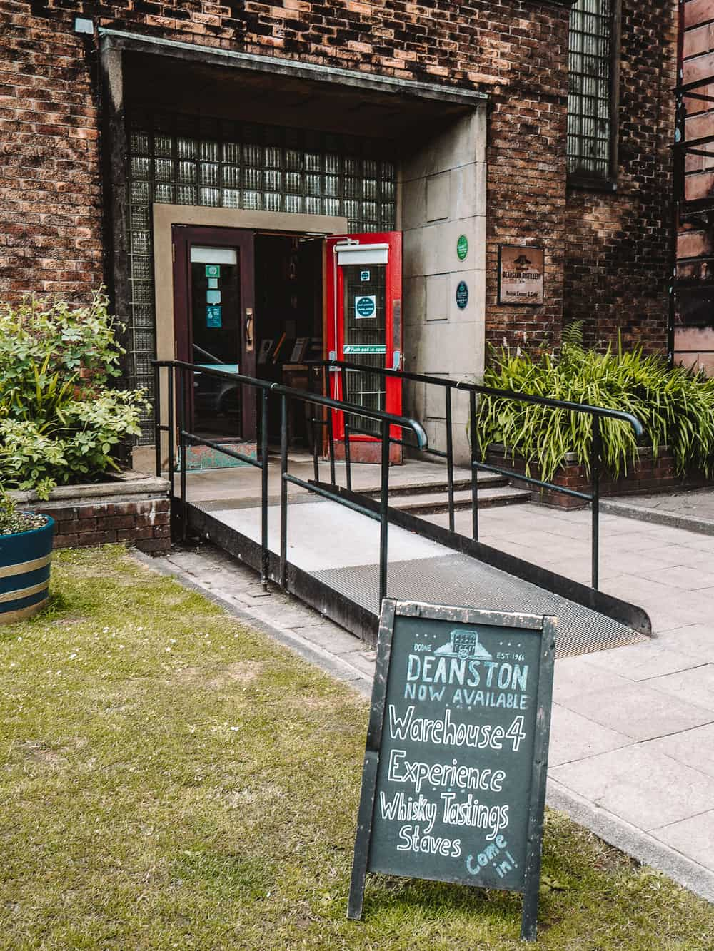Deanston Distillery tours