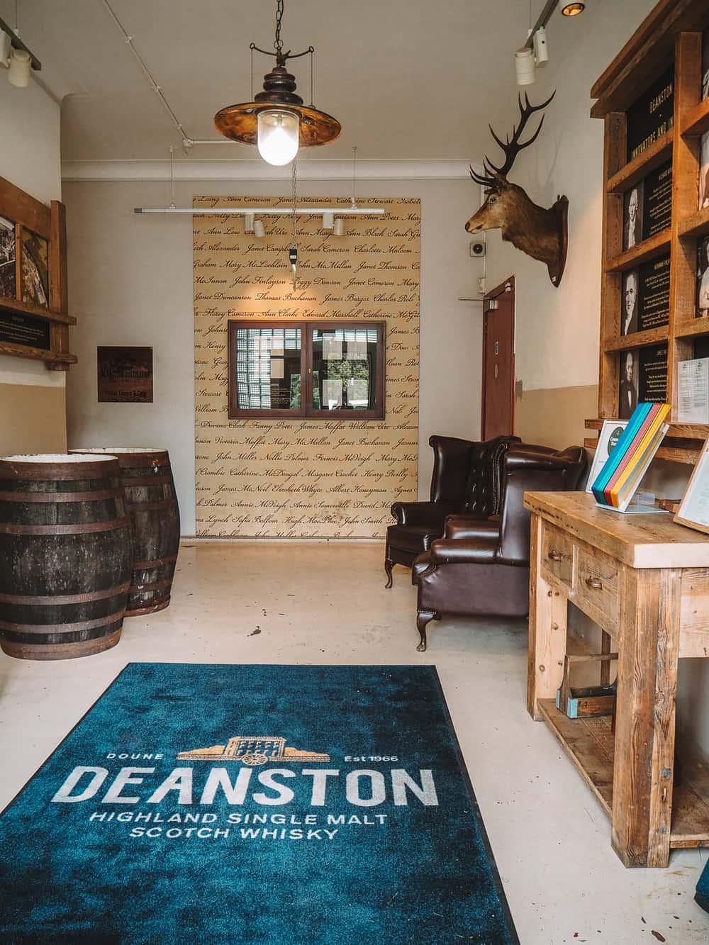 Deanston Distillery Visitor Centre