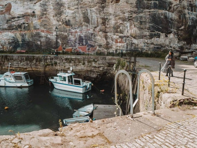 La Havre in Outlander was filmed in Dysart Harbour