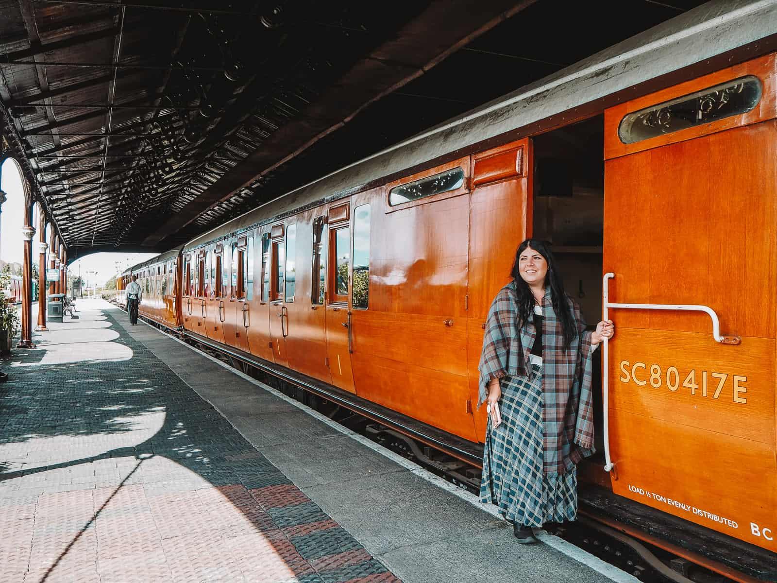 Bo'ness and Kinneil Railway Outlander location