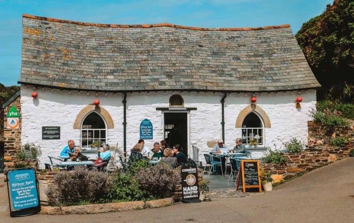 The Pixie House Boscastle Harbour Light Tea Garden