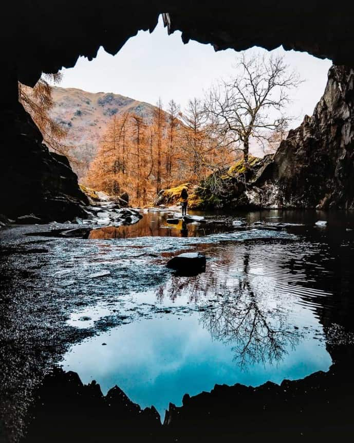 Rydal Cave is FREE entry!