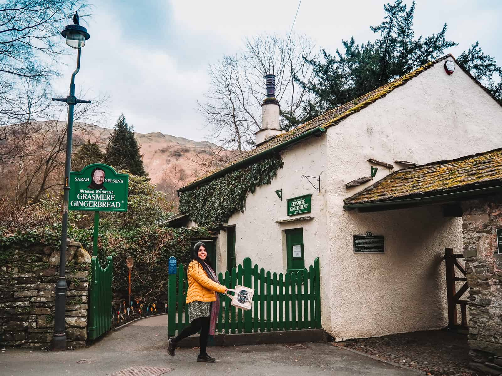 Sarah Nelson's Grasmere Gingerbread shop history