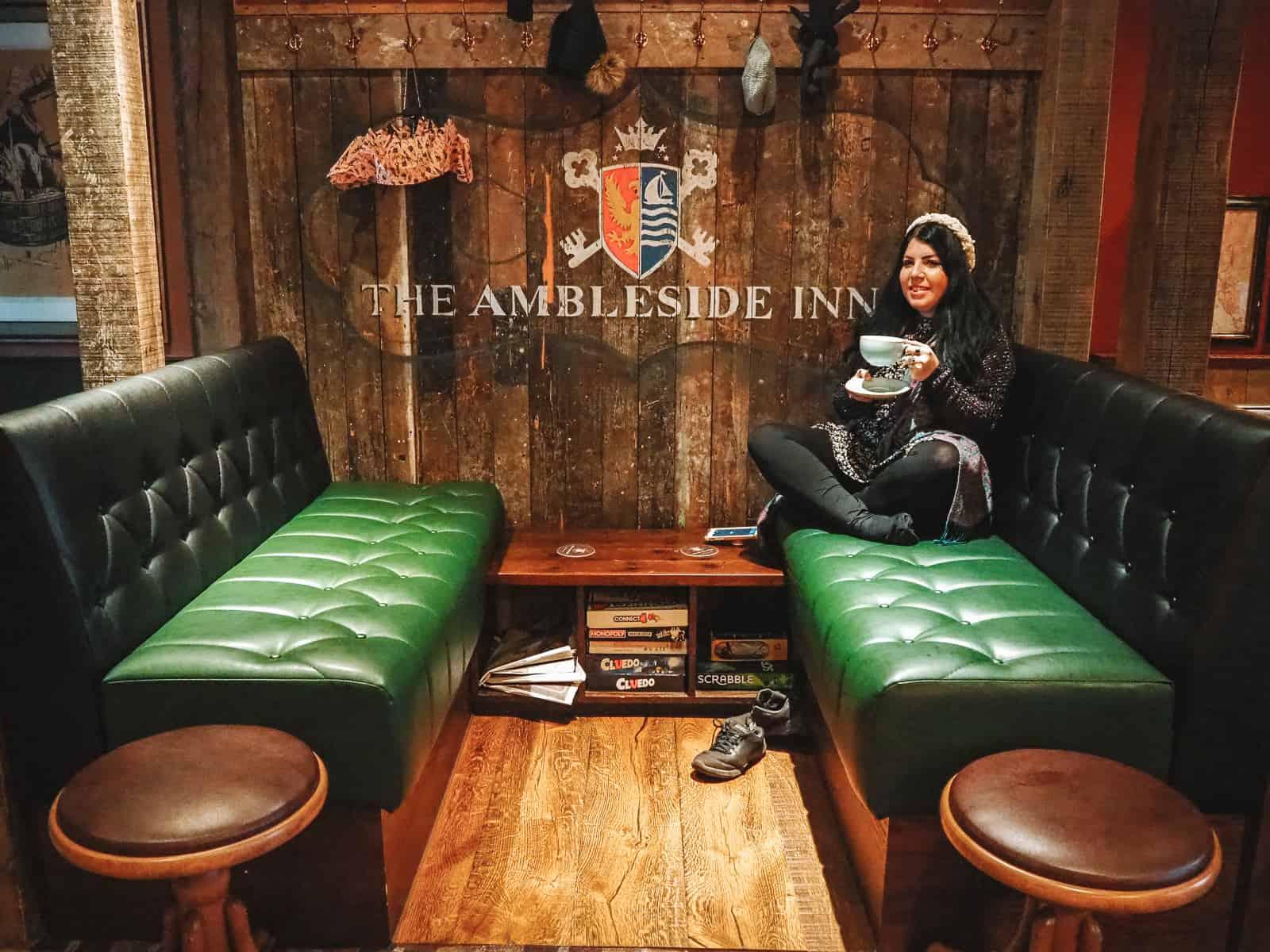 The Ambleside Inn restaurant