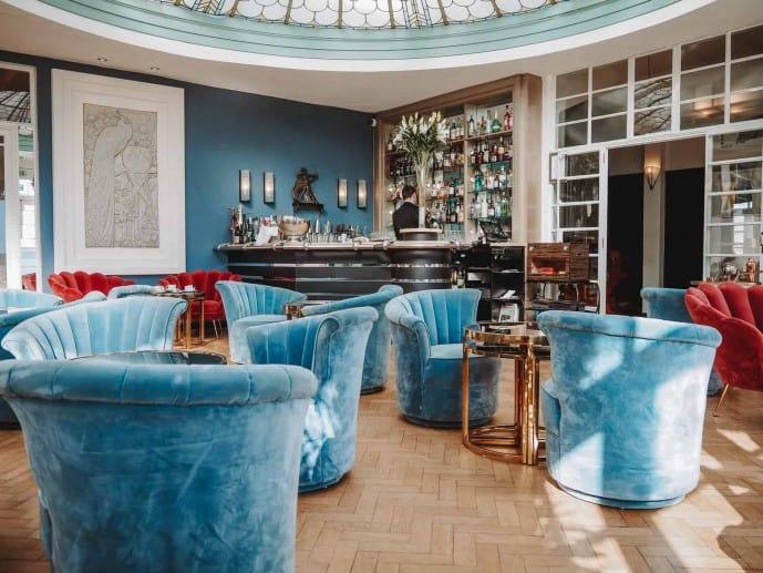 Burgh Island Hotel Palm Court