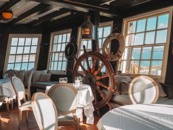 The Captain's Cabin HMS Ganges