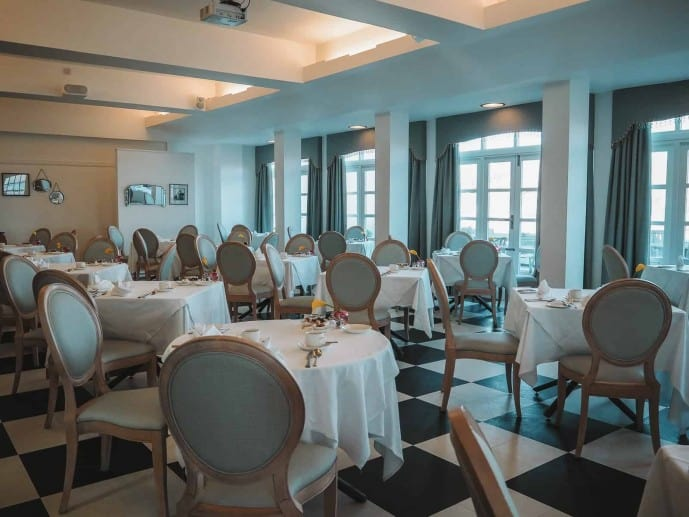 The Nettlefold Restaurant, Burgh Island Hotel