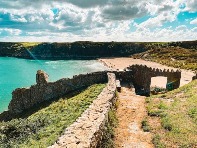 How to Visit Barafundle Bay Walk Pembrokeshire