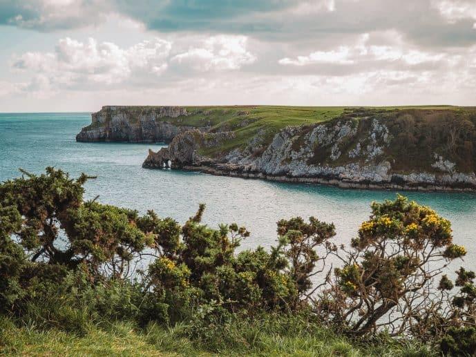 Barafundle Coastline Pembrokeshire