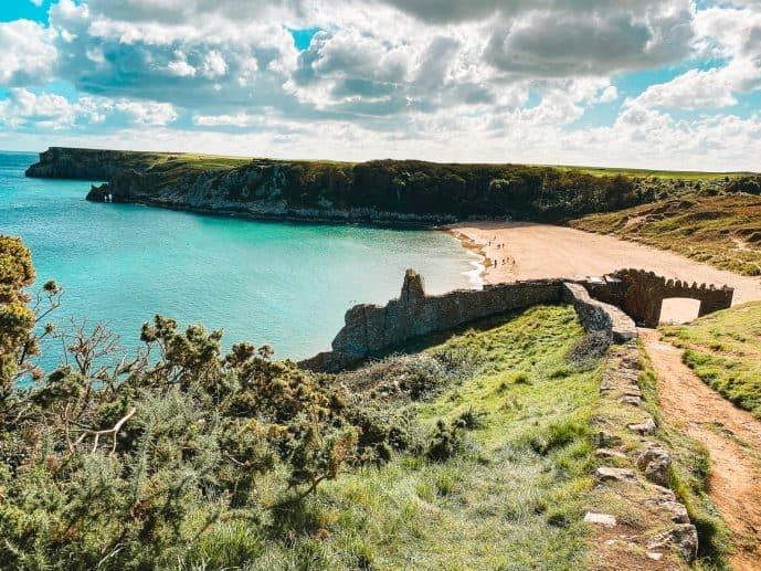 Barafundle Bay Beach Pembrokeshire