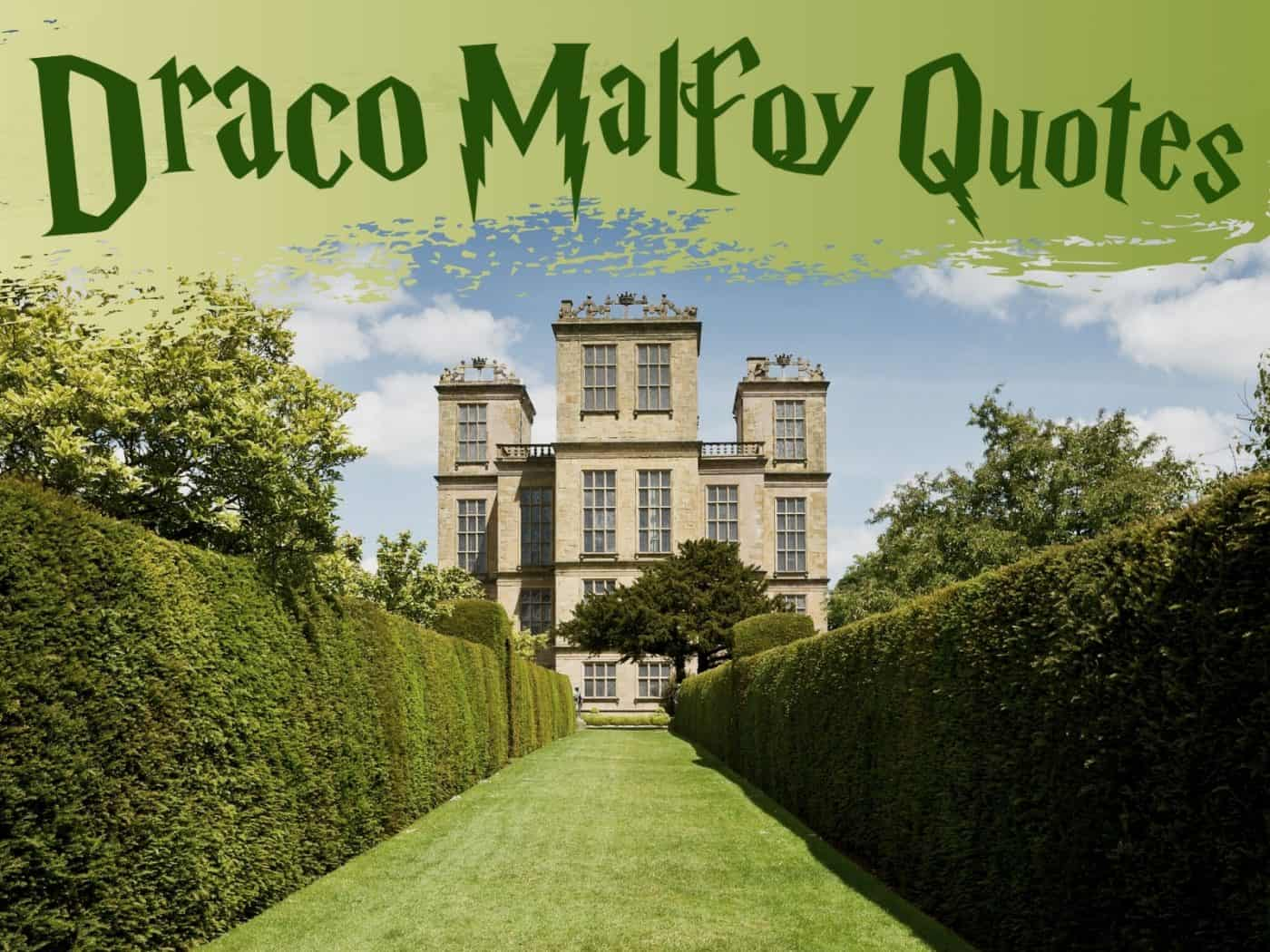 Best Draco Malfoy quotes