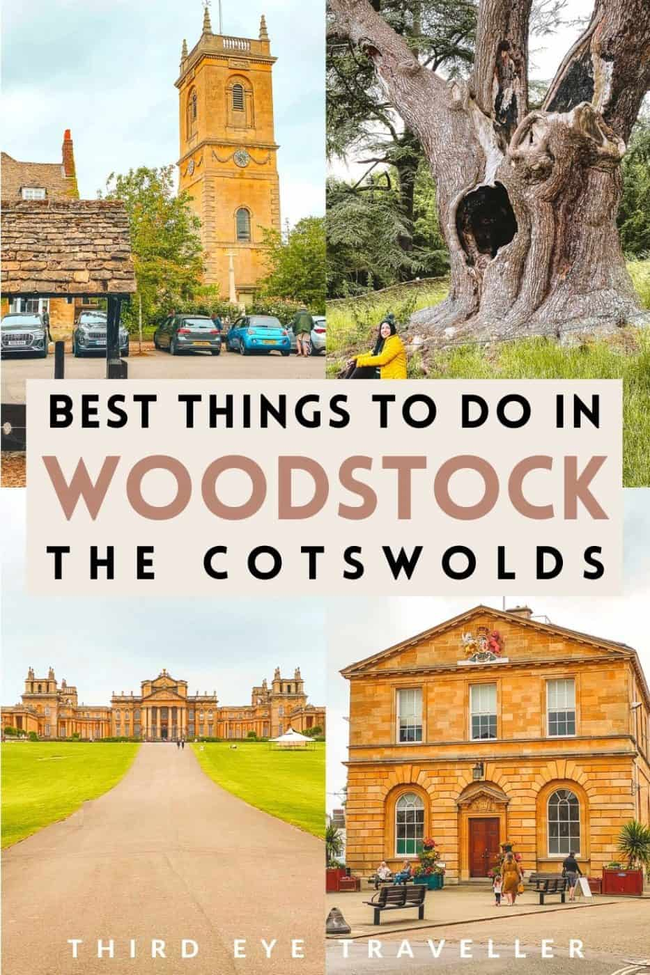 Things to do in Woodstock UK Cotswolds