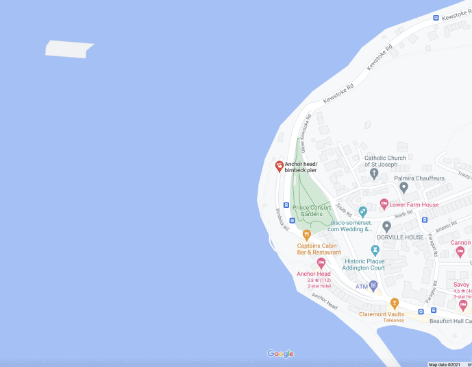Birnbeck Pier Location Weston-super-Mare