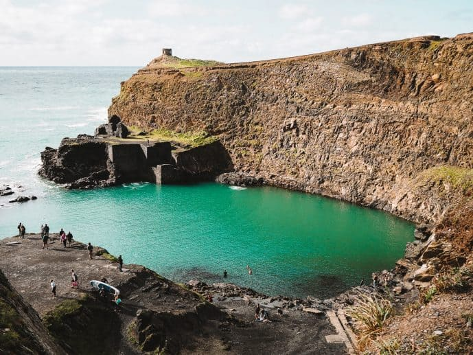 The Blue Lagoon in Wales