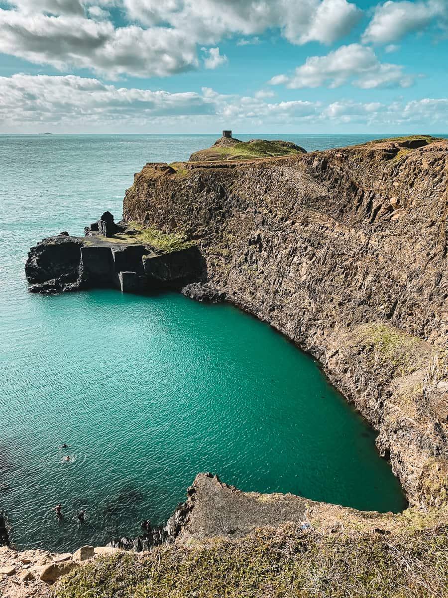 The Blue Lagoon Pembrokeshire