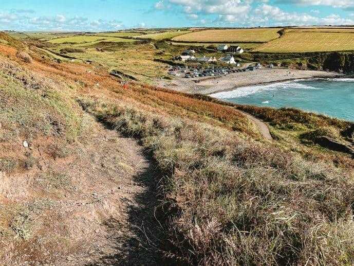 Abereiddy Beach Pembrokeshire Coast Path