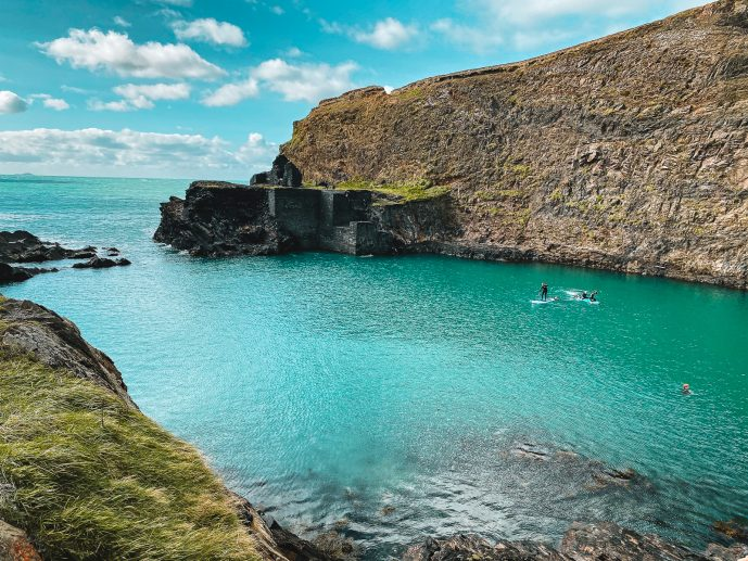 The Blue Lagoon in Pembrokeshire