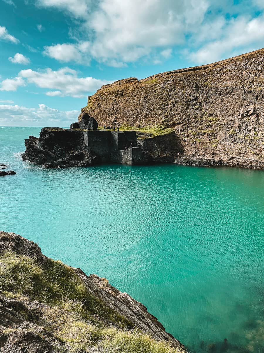 Abereiddi Blue Lagoon Pembrokeshire