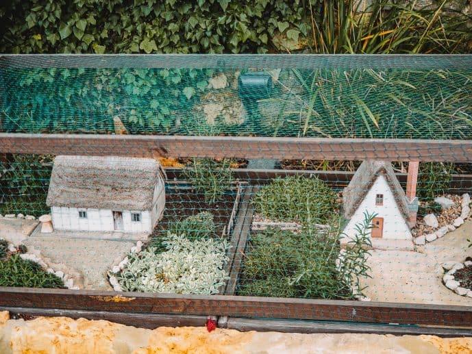 The miniature landscape display at bourton model village