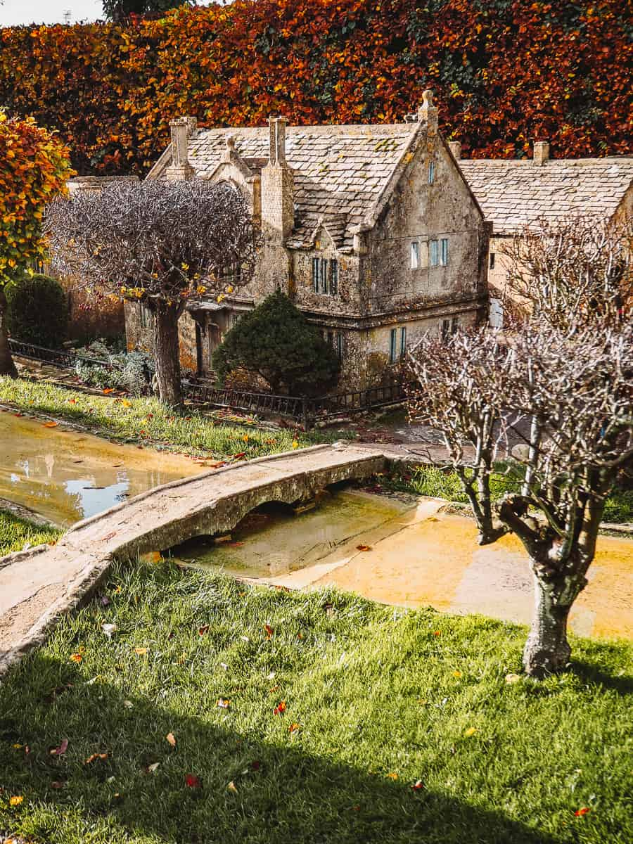 Bourton on the Water model village