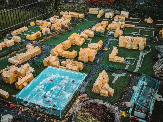 Bourton Model Village in a model village