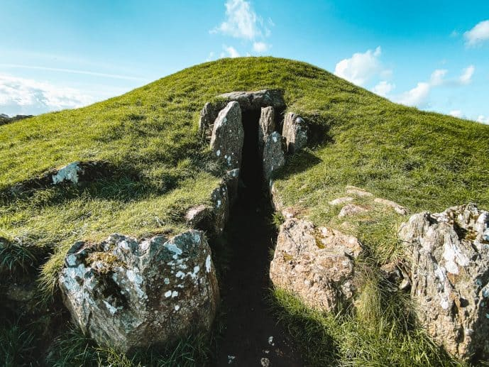 Bryn Celli Ddu Neolithic tomb on Anglesey