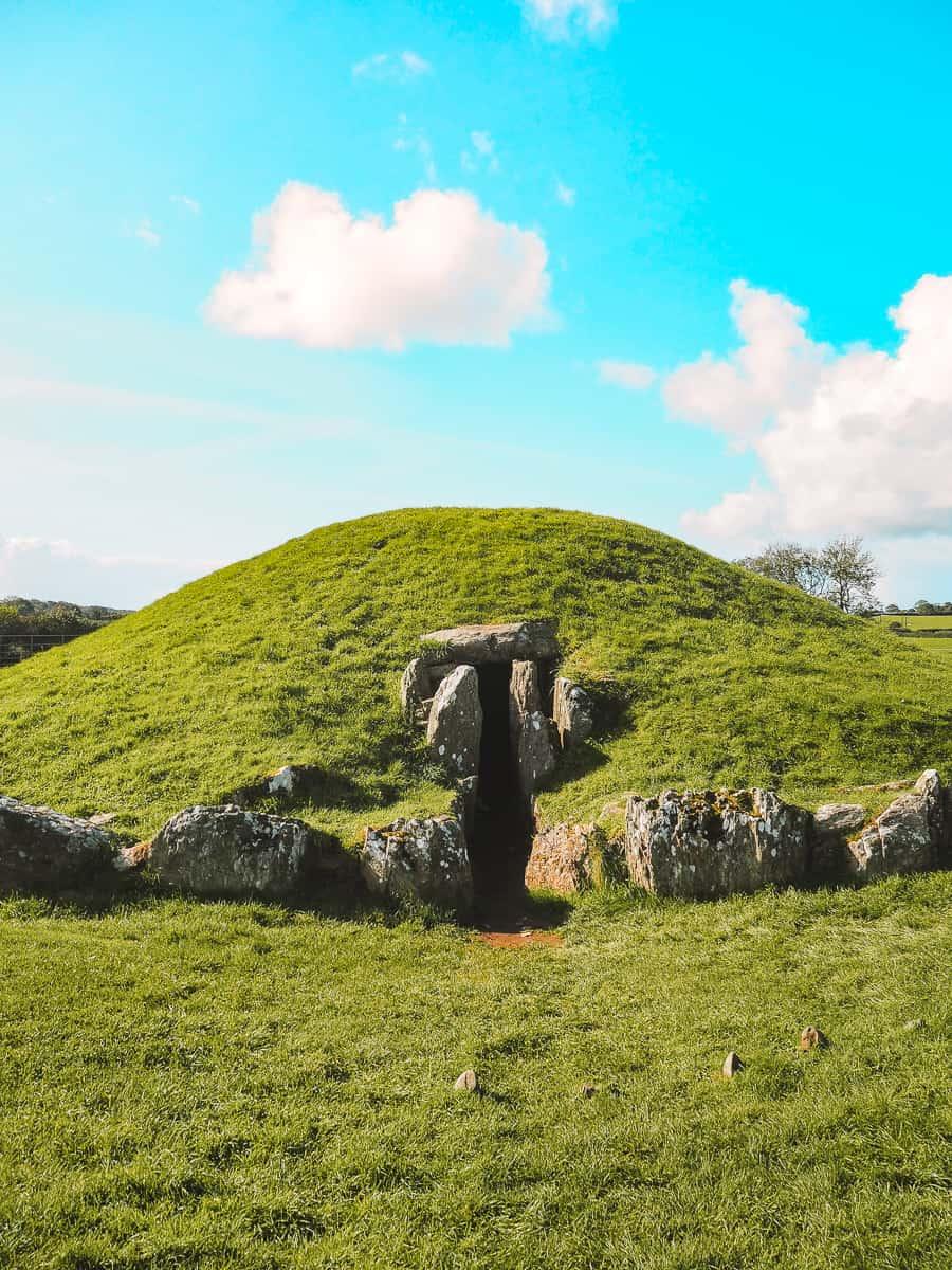 Bryn Celli Ddu Anglesey Burial Chamber