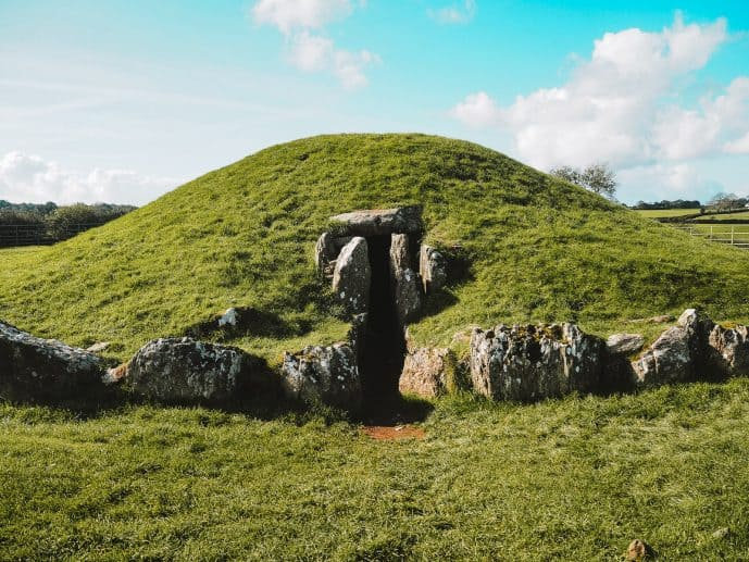 Bryn Celli Ddu Burial Chamber Anglesey Wales