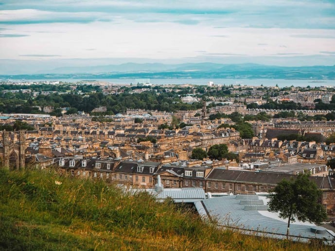 Leith View from Calton Hill