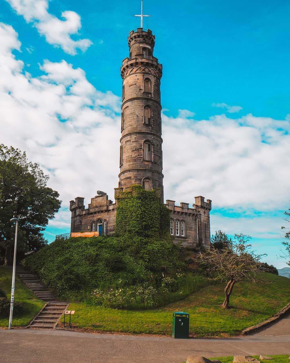 The Nelson Monument Calton Hill Edinburgh