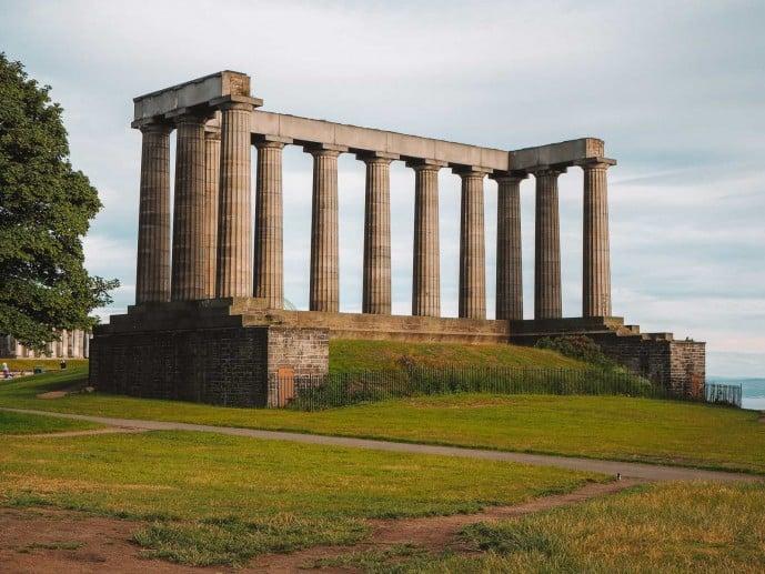 National Monument of Scotland Edinburgh