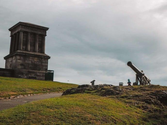 The Calton Hill Cannon
