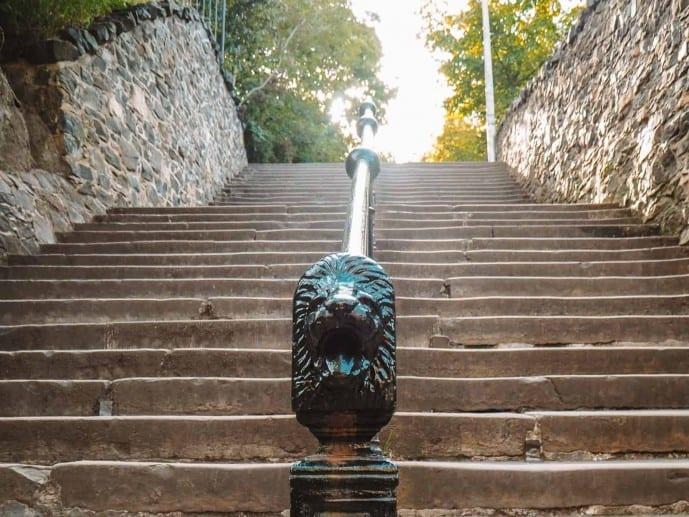 Calton Hill Edinburgh Staircase