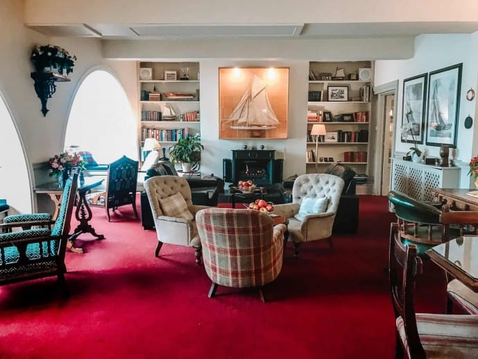 The Cary Arms residents lounge