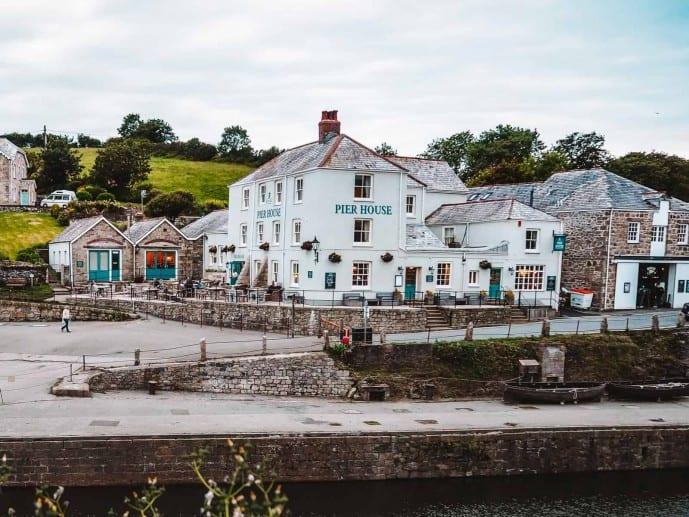 The Pier House Charlestown Cornwall