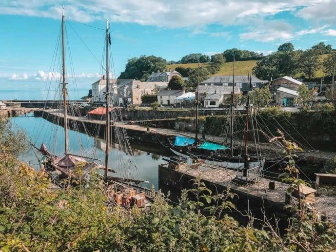 Tall Ships Charlestown Cornwall