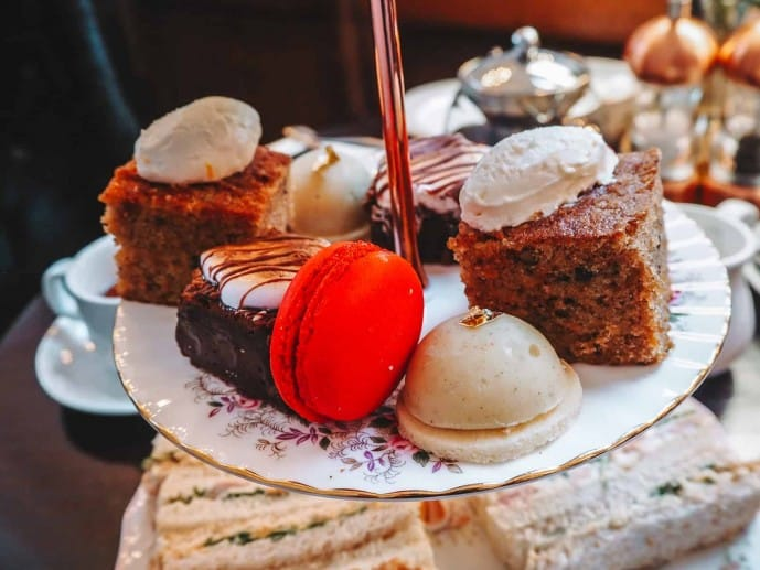 Barristers Restaurant afternoon tea knutsford