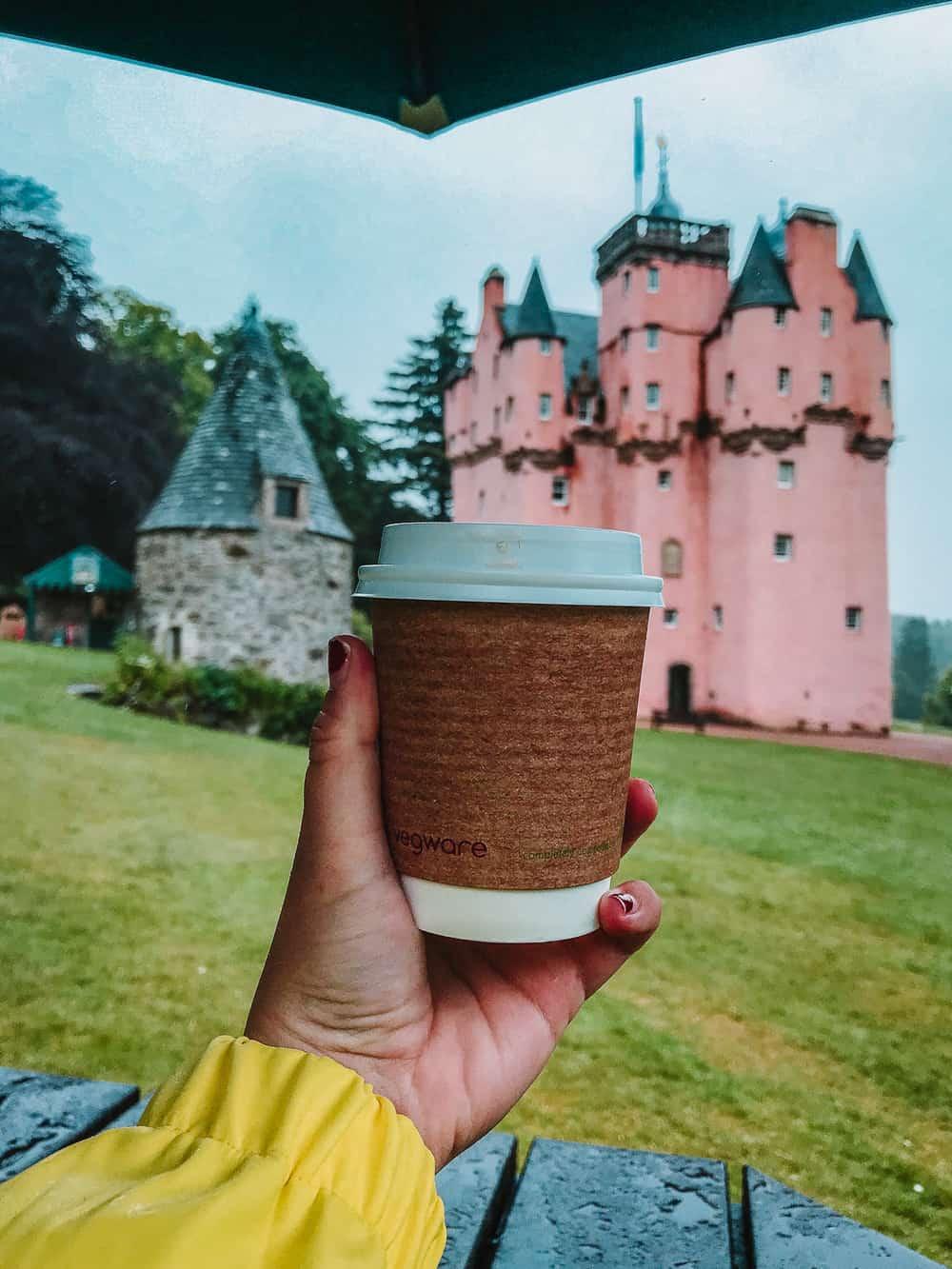 Is there a tea room at Craigievar Castle?