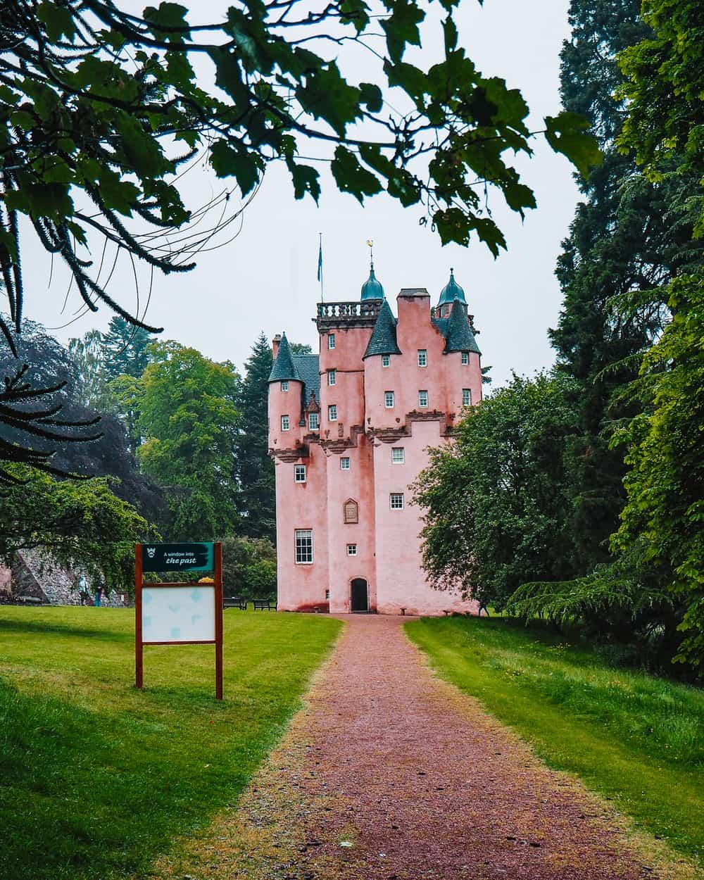 Walt Disney inspired by Craigievar Castle