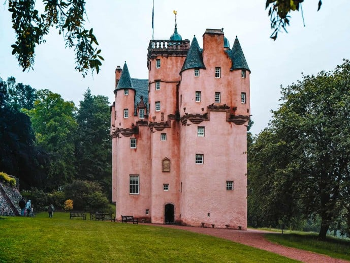 Pink Castle in scotland | Craigievar Castle Scotland