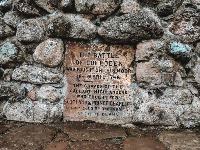Culloden Battlefield Memorial Culloden Outlander
