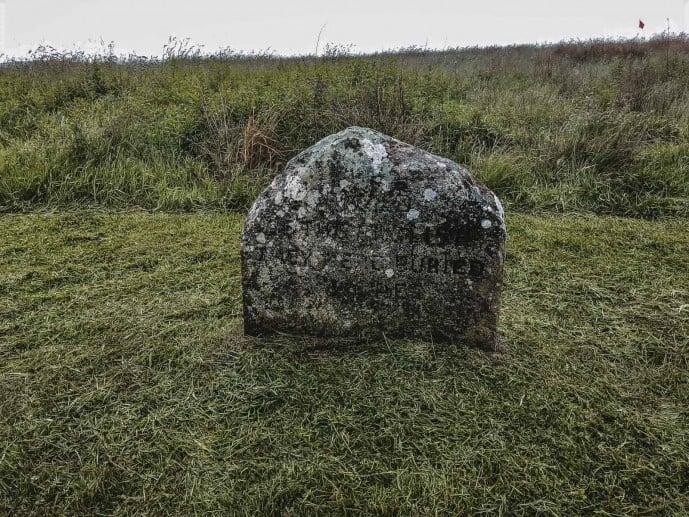 Culloden gravestone