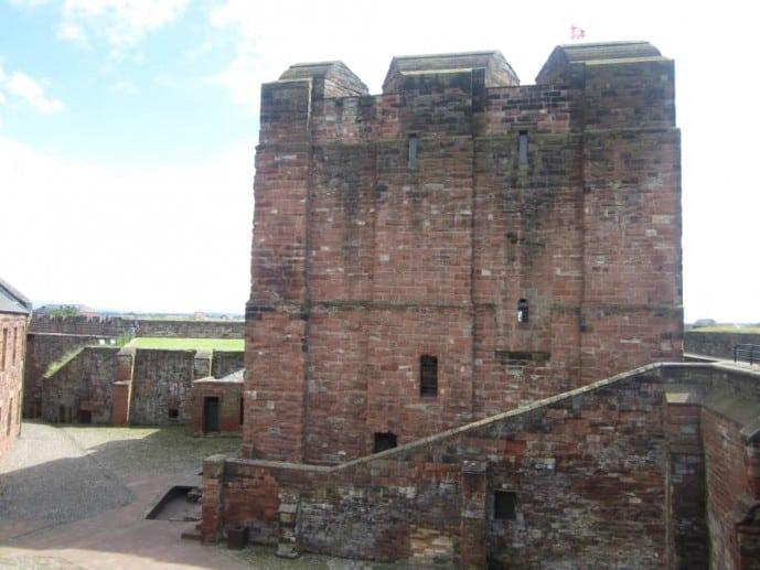 Carlisle Castle Outlander