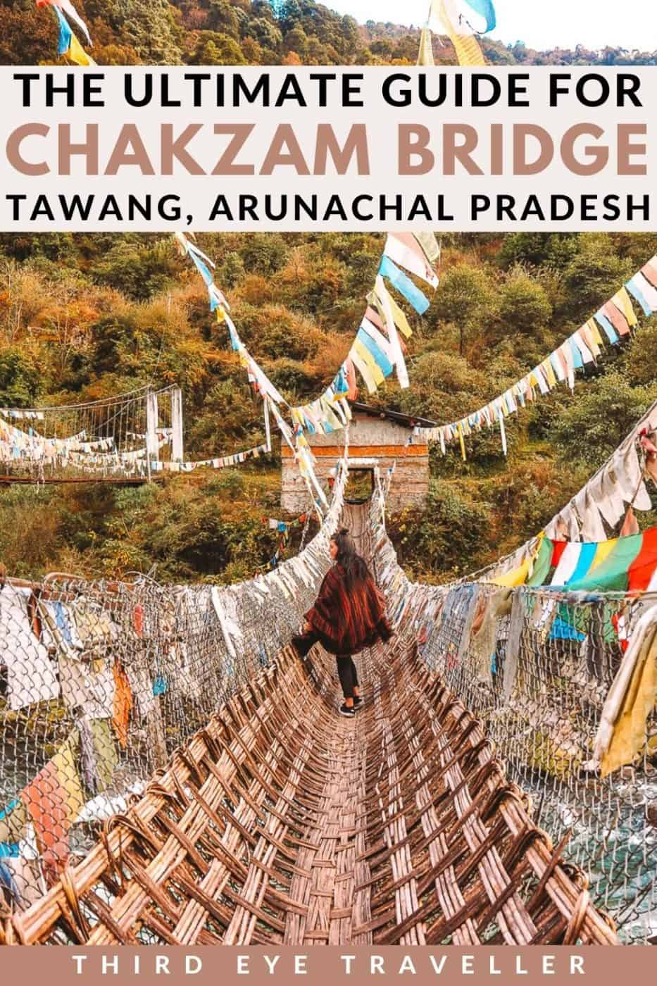 Chakzam Bridge Tawang District Arunachal Pradesh