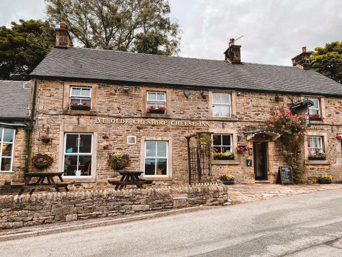 Ye Olde cheshire Cheese Inn Longnor