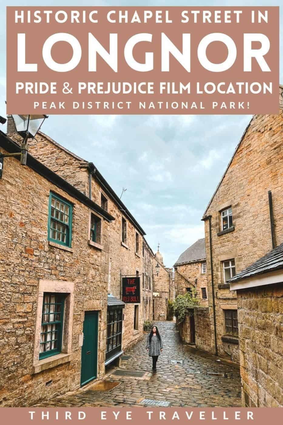 Chapel Street Longnor Pride and Prejudice Filming Location