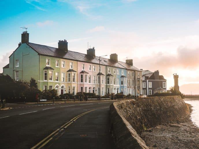Colourful Houses Beaumaris West End