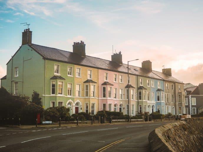 Colourful Houses Beaumaris
